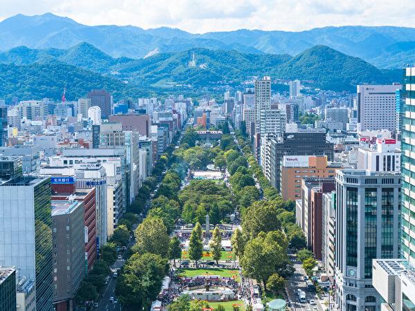 北海道 札幌市内の街並み